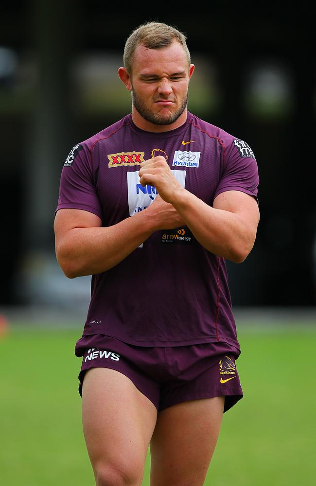 Broncos player Martin Kennedy.