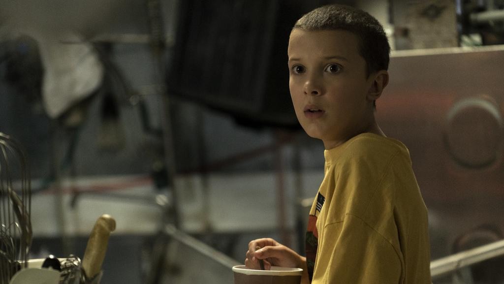 Netflix shows including  <i>Stranger Things</i> have won a slew of Emmy nominations, but can it earn enough from subscribers to pay its huge programming bill? Picture: Curtis Baker/Netflix