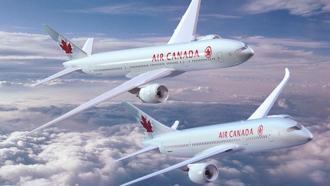 Professionalism ... passengers have praised the actions of the 19 crew members on board Air Canada flight AC088
