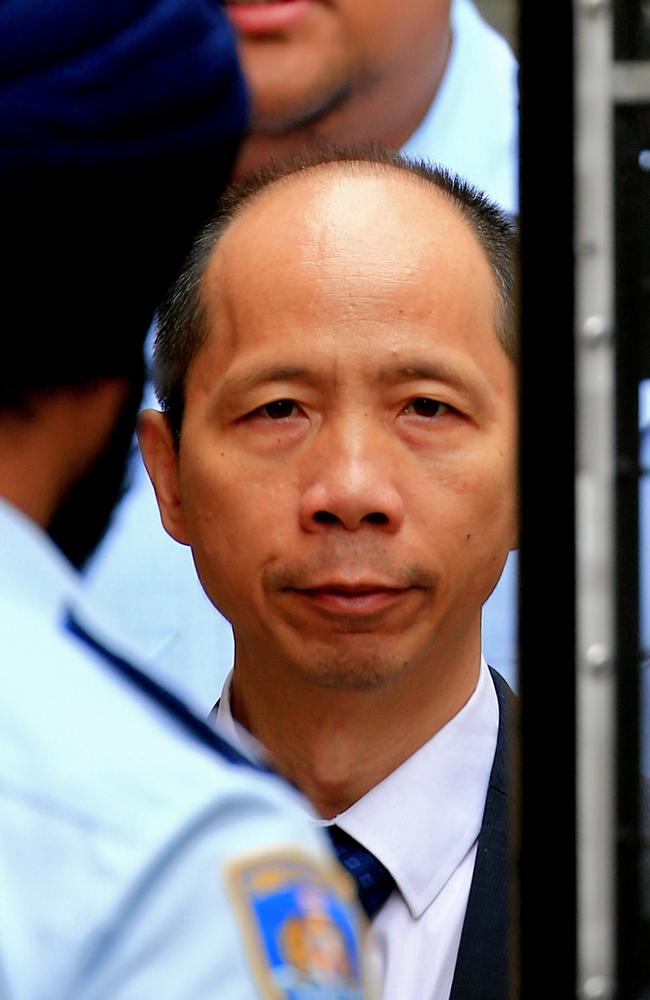 Robert Xie has been on trial for the alleged murder of five members of his wife Kathy's family in 2009. Picture: Dylan Robinson.
