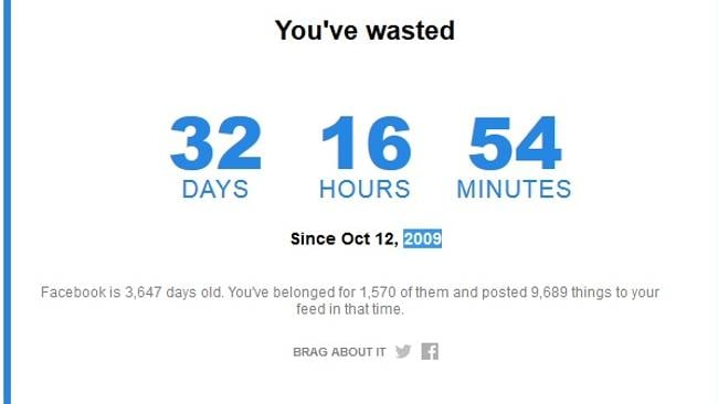 Does this mean I'm a Facebook addict?