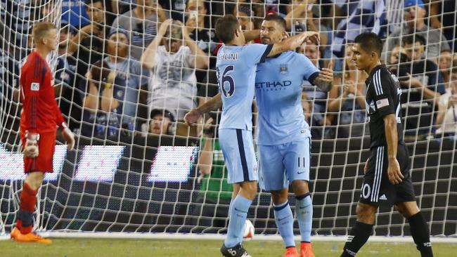 City had far too much quality for Sporting KC.
