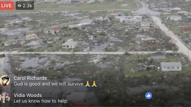 Locals are hopeful that even after Irma's devastating effects that the Barbudan community will continue on the island. Picture: Twitter.