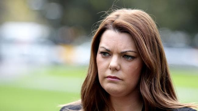 Green senator Sarah Hanson-Young / Picture: Kelly Barnes