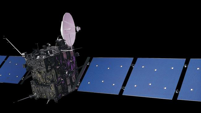 European Space Agency's comet-chasing probe Rosetta. Picture: ESA