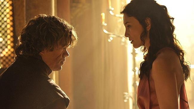 We'll end with Tyrion, because everyone knows he's the best. Oh, and there's that French girl. (Game...