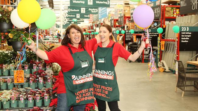 """Bunnings seem to do it better."""