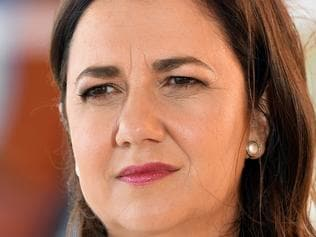 Queensland Premier Annastacia Palaszczuk is seen on a Light Rail platform on the Gold Coast, Friday, November 24, 2017. Ms Palaszczuk is on the campaign trail ahead of tomorrow's state election. (AAP Image/Dan Peled) NO ARCHIVING