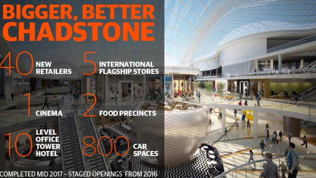 Chadstone is vying to become the southern hemisphere's largest shopping centre.
