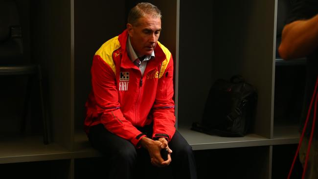 Gold Coast footballer manager Marcus Ashcroft could be a part of the club's off-field shake-up. Picture: David Clark