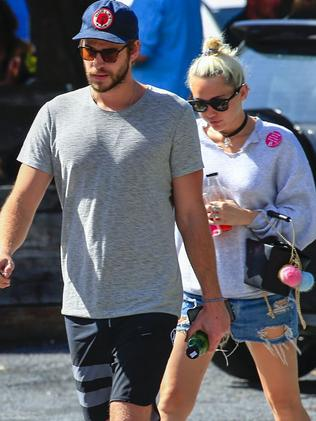 Miley and Liam.