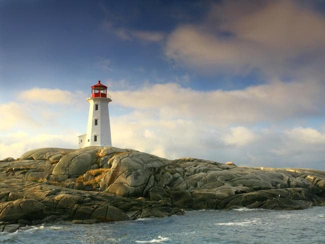 The lighthouse at Peggy's Cove is one of the most popular drives from Halifax.