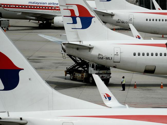 Malaysia Airlines jet MH370 went missing two years ago en route to Beijing. Picture: Mana Vatsyayana/AFP