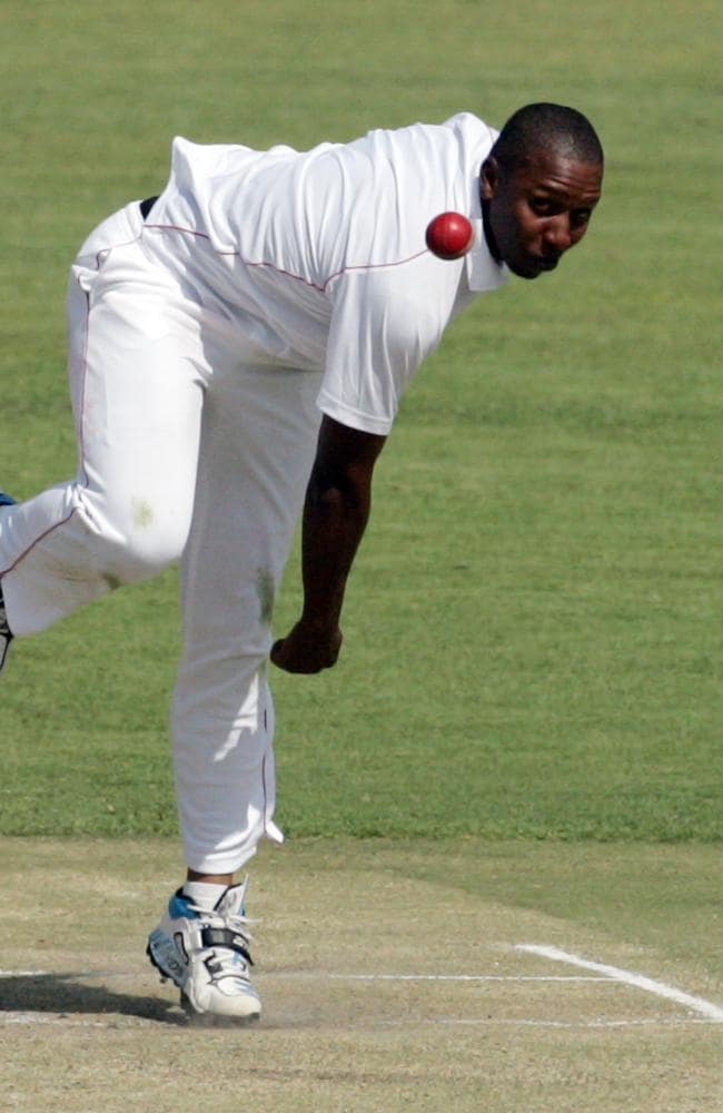 Zimbabwe bowler Tinashe Panyangara won't have to face Johnson again in this series.