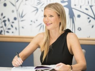 Gwyneth Paltrow at book signing, May 19 2017 in Seattle, Washington. Photo: Mat Hayward/Getty Images for Nordstrom.