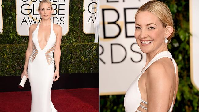 Kate Hudson turned heads in a plunging neckline ...