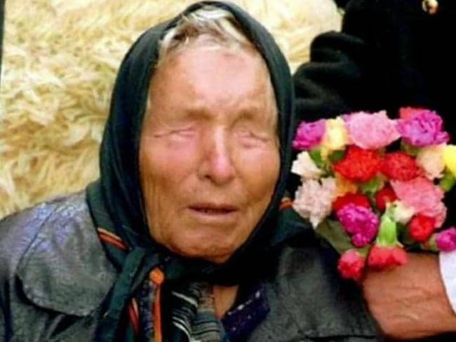 Baba Vanga was regarded as the Nostradamus of the Balkans for her apparent 85 per cent accuracy rate.