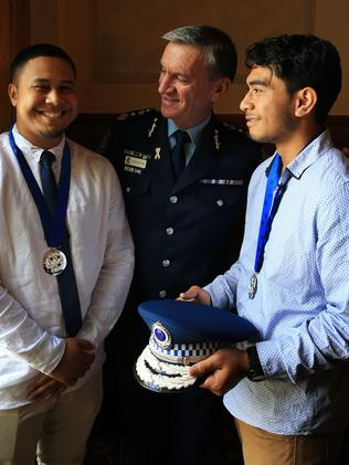 The cousins were given a Pride of Australia award last year for their bravery. Picture: Toby Zerna