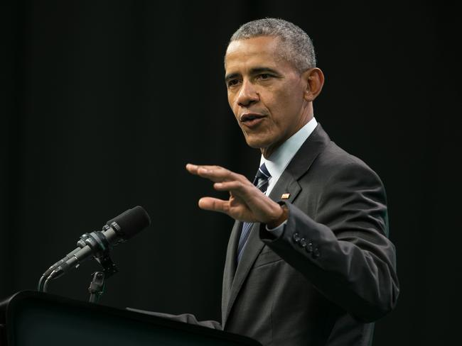 Barack Obama is set to return to the political arena. Picture: AFP/Pablo Gasparini