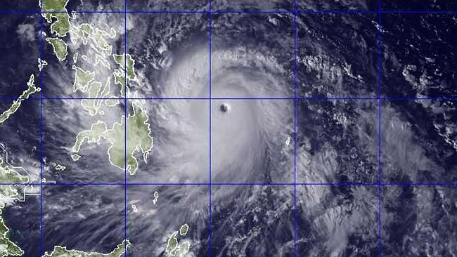 Government forecasters said Thursday that Typhoon Haiyan was packing sustained winds of 215 kilometres per hour and ferocious gusts of 250km/h.