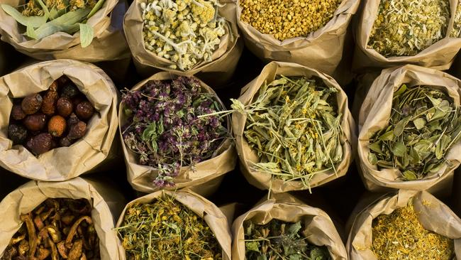 Save leftover herbs by drying them in the microwave. Picture: iStock