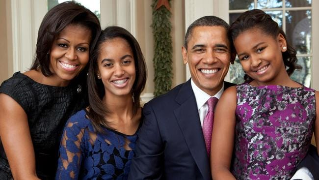 Image result for photos of obama and his family