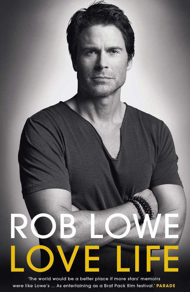 Rob Lowe's new book reveals a lot about his character.