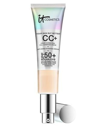 The IT Cosmetics CC cream is a cult favourite, and comes in seven shades.