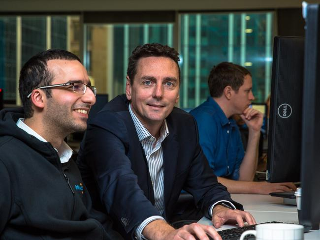 InfoTrack chief executive John Ahern trained his staff to take over his role. Picture: Andrew Evans