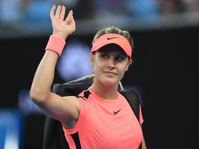 Bouchard has waved goodbye to a top-100 ranking.