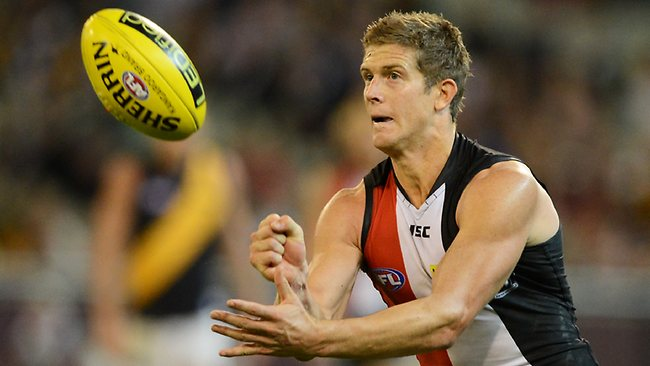 St Kilda veteran Nick Dal Santo is prepared to forego immediate success as the club looks to the future. Picture: Wayne Ludbey
