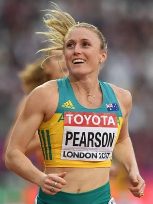 Sally Pearson came into London as the third-fastest hurdler in the world this year.