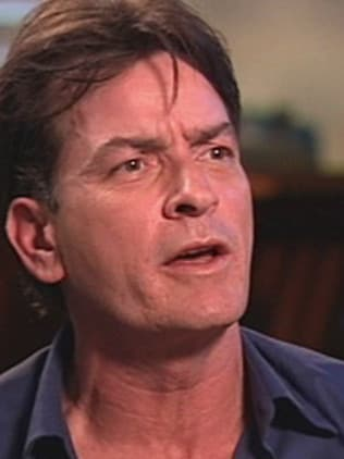 Charlie Sheen, blessed with 'fire-breathing fists.'