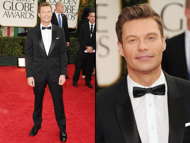Ryan Seacrest on the red carpet at the 69th Annual Golden Globes. Picture: Getty