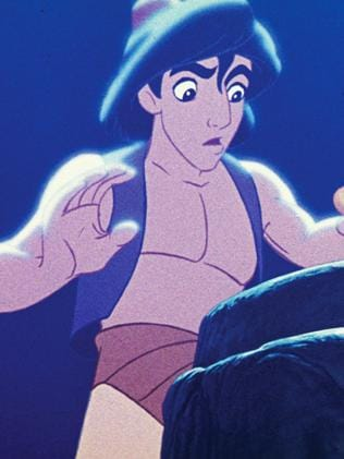 Aladdin in the 1992 Disney movie. Picture: AP