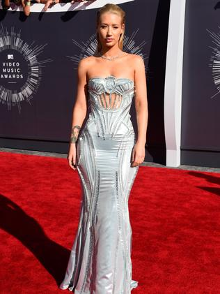 Iggy Azalea attends the 2014 MTV Video Music Awards.