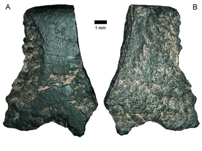 Archaeologists from The Australian National University have unearthed fragments from the edge of the world's oldest-known axe, found in the Kimberley region of Western Australia.
