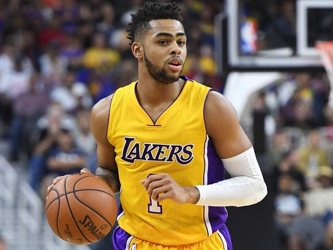 D'Angelo Russell was traded from the Lakers to the Nets.
