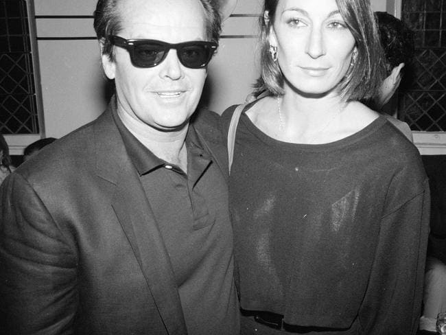 Jack Nicholson and Angelica Huston. Picture: The LIFE Picture Collection/Getty Images