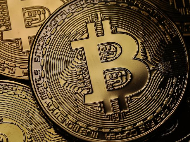 LONDON, ENGLAND - OCTOBER 23:  A visual representation of the digital Cryptocurrency, Bitcoin on October 23, 2017 in London, England. Cryptocurrencies including Bitcoin, Ethereum, and Lightcoin have seen unprecedented growth in 2017, despite remaining extremely volatile. While digital currencies across the board have divided opinion between financial institutions, and now have a market cap of around 175 Billion USD, the crypto sector coninues to grow, as it sees wider mainstreem adoption.  (Photo by Dan Kitwood/Getty Images)