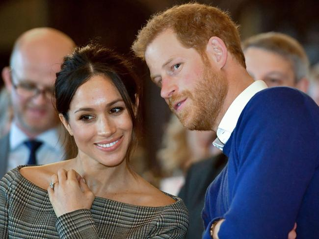 Prince Harry and Meghan Markle will ride through the streets of Windsor after their wedding. Picture: AFP/Ben Birchall