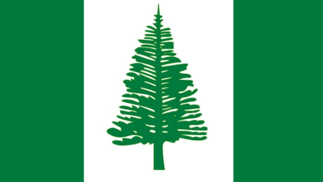 Could the famous Norfolk Pine soon be bumped from the flag?