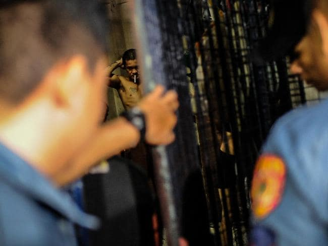 Philippine police have been conducting night raids against suspected criminals and drug dealers, which have caused a concern for Catholic Church officials and human rights advocates. Picture: Dondi Tawatao/Getty Images