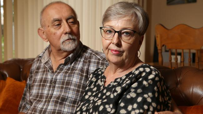 Aged care and mental health experts Neil and Carla Baron, who called for action. <b></b>Picture: Stephen Laffer