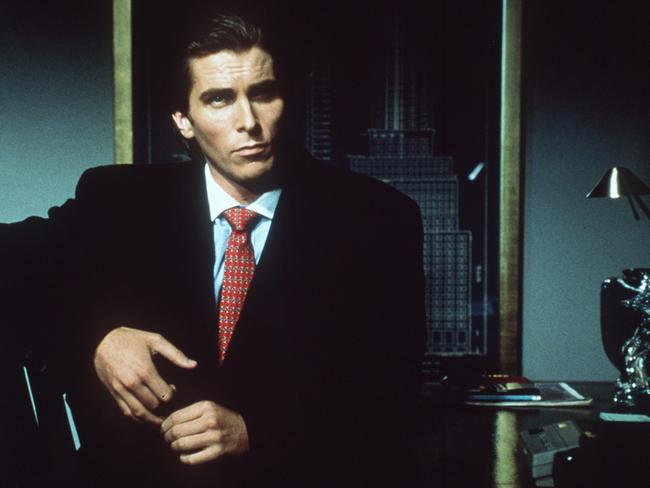 American Psycho was a career turning point for Bale. Picture: Supplied