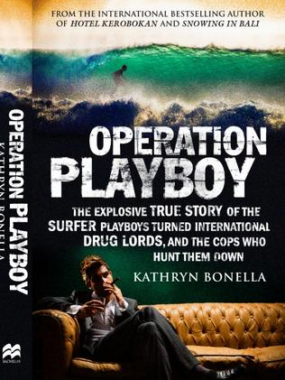 Operation Playboy by Kathryn Bonella. Published by Macmillan Australia, RRP $34.99 trade paperback. On sale December 12, 2017.