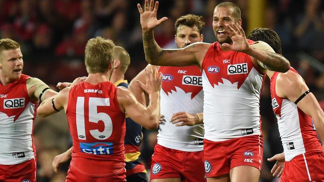 Lance Franklin has dominated in September. Picture: Getty Images.