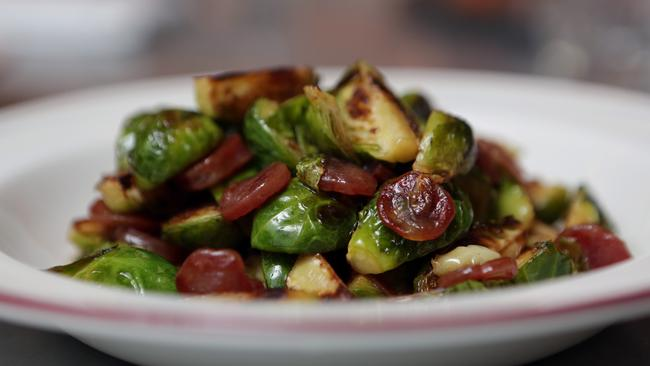 Supernormal's Brussels sprouts with chinese sausage. Source: News ...