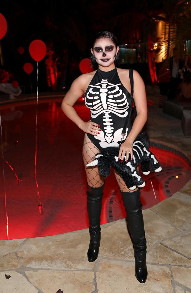 Actress Ariel Winter attends Just Jared's 6th Annual Halloween Party. Picture: Getty