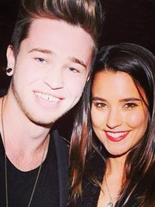 Still dating ... Reece Mastin and Rhiannon Fish. Picture: Instagram